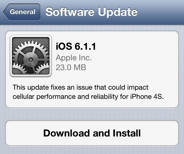 iOS611