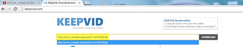 Keepvid youtube downloader