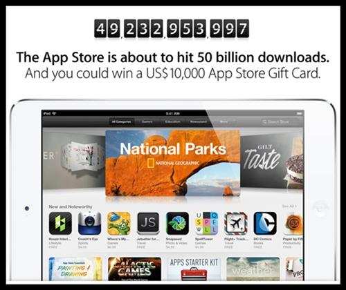 app-store-50billion-download