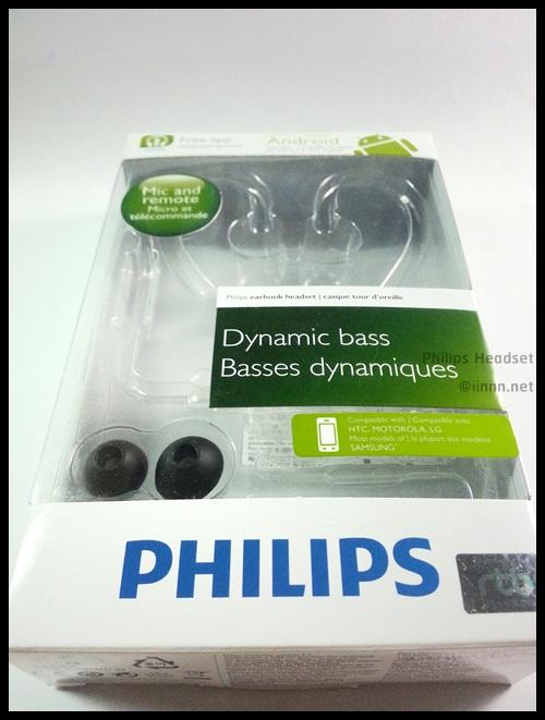 Philips headset ear-hook